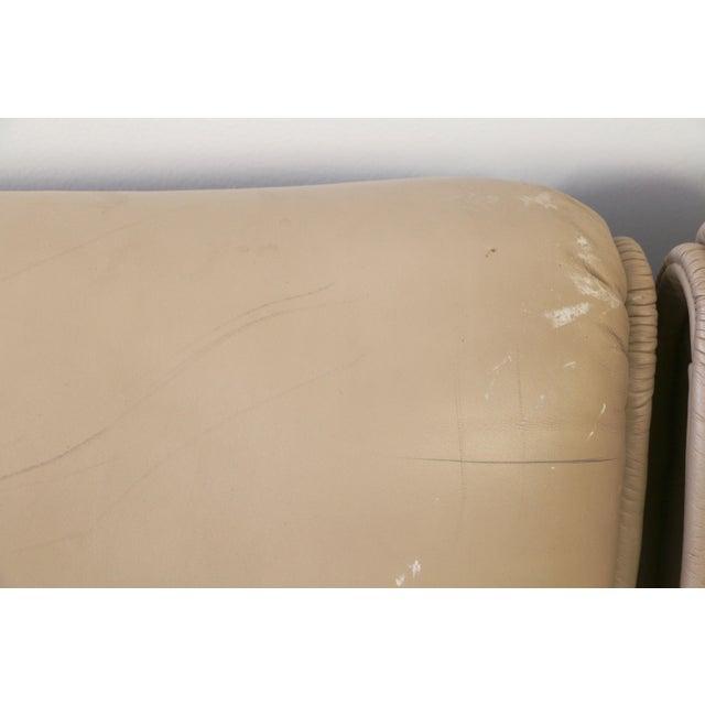 Leather Veranda 3 Sofa by Vico Magistretti for Cassina For Sale - Image 10 of 13