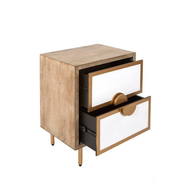 Art Deco Positano 2 Drawers Nightstands For Sale - Image 3 of 5