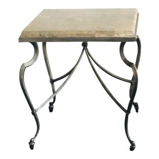 2000s Italian Style Side Table For Sale