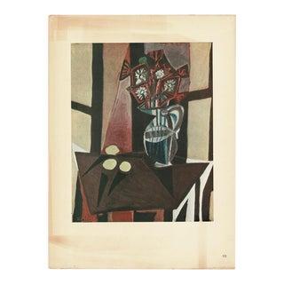 "1943 Picasso Original ""Nature Morte"" Lithograph For Sale"