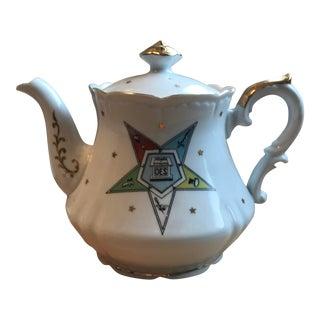 Lefton Masonic Tea Pot Hand