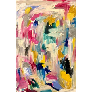 Abstract Expressionism Painting by Ebony Boyd For Sale