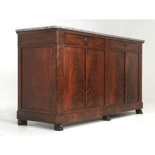 Antique French Restauration Buffet in Mahogany Preview