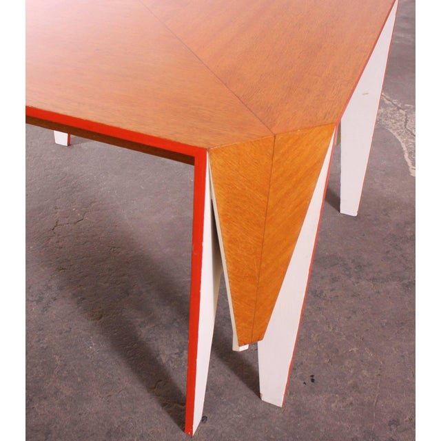 Modern Architectural Dining Table - Image 4 of 8