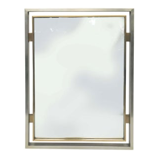 Jansen by Guy Lefevre Wall Mirror For Sale