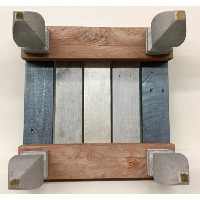 Industrial Reclaimed Hardwood Meditation Table For Sale - Image 11 of 13
