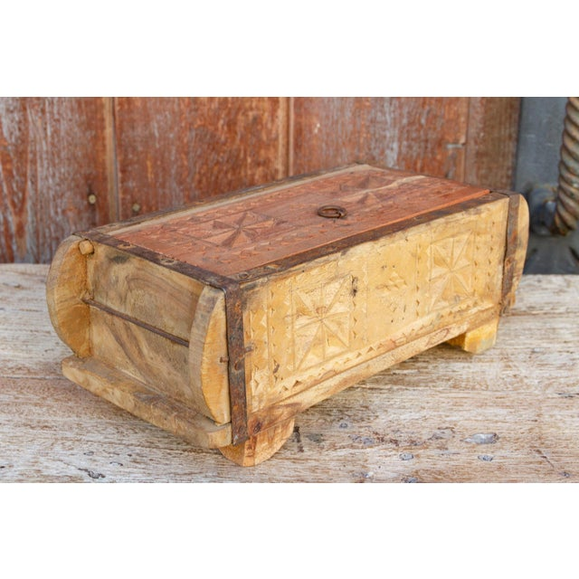19th Century Iris Swat Valley Spice Box For Sale - Image 5 of 7
