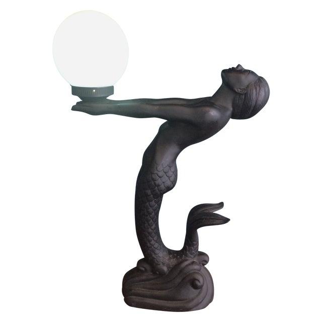 Mermaid Lamp For Sale