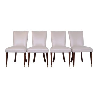 Mid-Century Hollywood Regency Dining Chairs - Set of 4