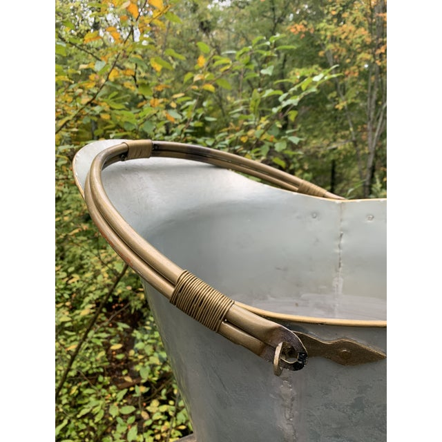Traditional Antique Bathtub Water Scuttle, 10 Gallons For Sale - Image 3 of 13