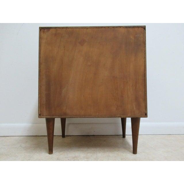 Vintage Danish Modern Walnut Lamp Table For Sale In Philadelphia - Image 6 of 7