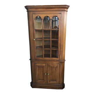 Corner Cupboard Oak For Sale