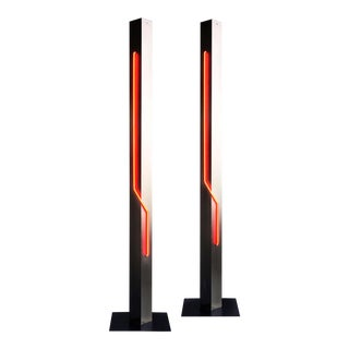 R. Stern 'Let There Be Neon' Torchiere Floor Lamp