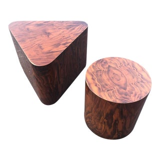 1970s Mid-Century Modern Paul Mayen Rosewood Side Tables - a Pair For Sale
