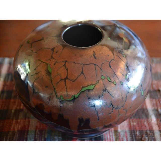 Ceramic Mid Century Modern Ceramic Pot For Sale - Image 7 of 12