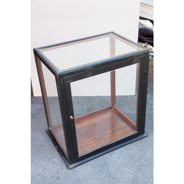 Anglo-Indian Ebonized Curio Cabinet For Sale - Image 3 of 9