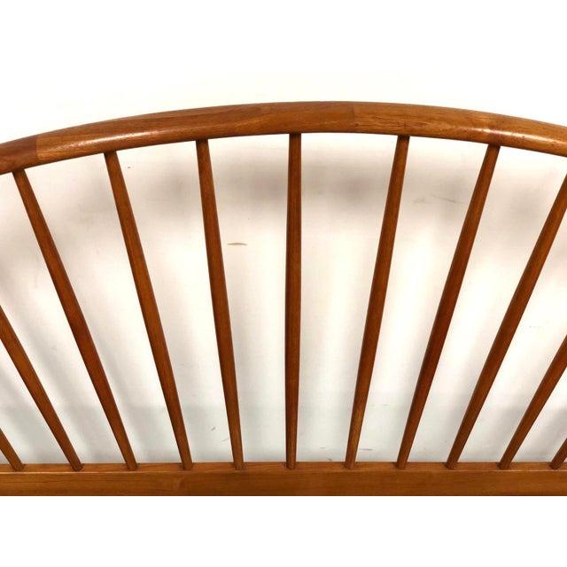 Brown Jespersen Danish Modern Teak King Bed For Sale - Image 8 of 11