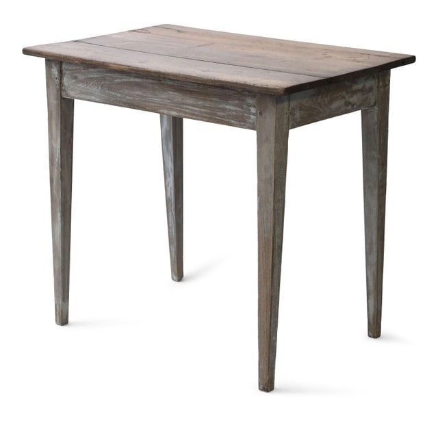 Wood Swedish Side Table For Sale - Image 7 of 13