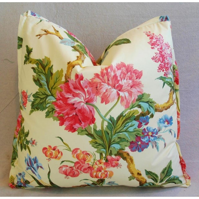 Brunschwig & Fils Coligny Spring Floral Pillows - a Pair - Image 6 of 10