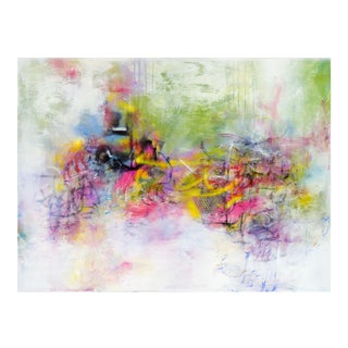 Symphony Multi-Media Painting For Sale