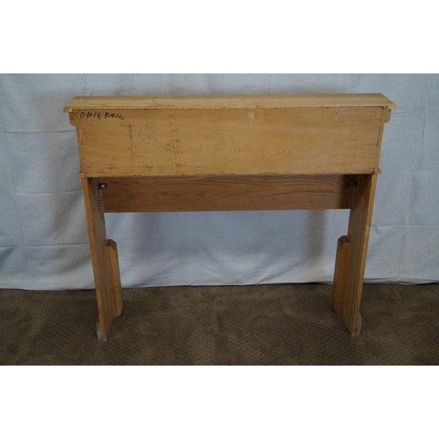 Brandt Ranch Oak Bookcase for Twin Size Headboard - Image 4 of 9