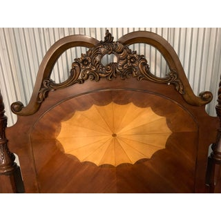 Early American Mahogany and Cherry Queen Four Poster Bedframe Preview
