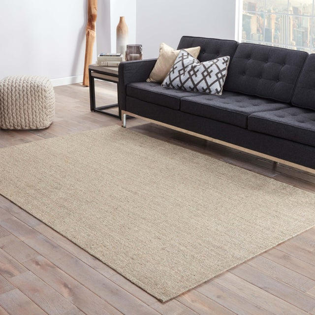 2010s Jaipur Living Daytona Natural Beige Area Rug - 9′6″ × 13′6″ For Sale - Image 5 of 6