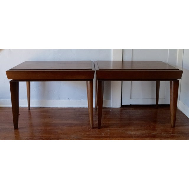 Mid-Century Designer Paul Lazlo End Tables - Pair - Image 4 of 7