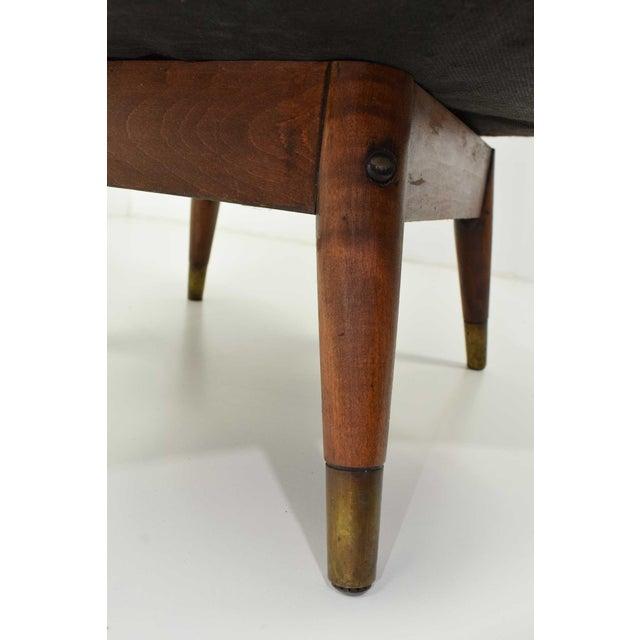 Purple Mid-Century Danish Lounge Chair For Sale - Image 8 of 9