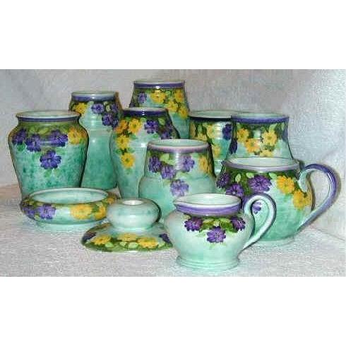 1930's Edward Radford Art Nouveau Vase For Sale - Image 4 of 7