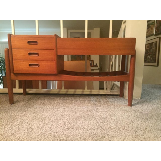 Arne Iverson Danish Modern Teak Planter Chest of Drawers For Sale In Los Angeles - Image 6 of 9