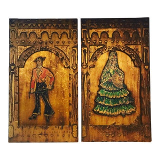 Spanish Flamenco Dancer Wall Hangings