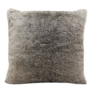 "Piper Collection Faux Fur ""Finny"" Pillow For Sale"