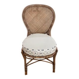 Rossini Arm Chair and Custom Cushion For Sale
