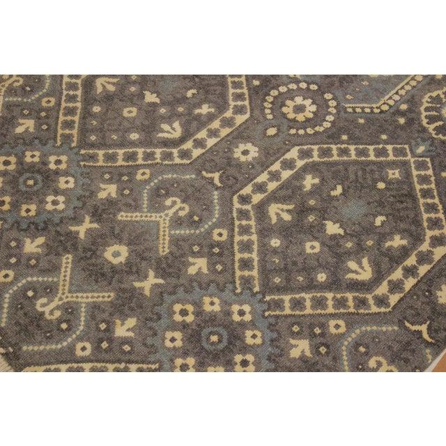 Silk Ezyln Modern Cheryle Gray/Ivory Wool & Viscouse Rug - 7'11 X 10'2 For Sale - Image 7 of 8