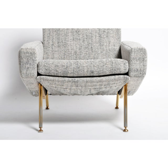 French Airborne Edition Armchairs by Pierre Guariche - a Pair For Sale - Image 9 of 13