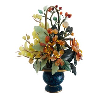 1940s Vintage Chinese Mineral Tree Model For Sale