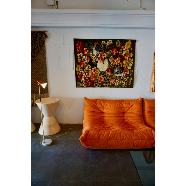 Handwoven French Tapestry by Henri Ilhe For Sale In Palm Springs - Image 6 of 9