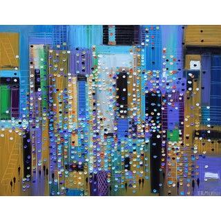"""Urban Walk"" Original Artwork by Ekaterina Ermilkina For Sale"