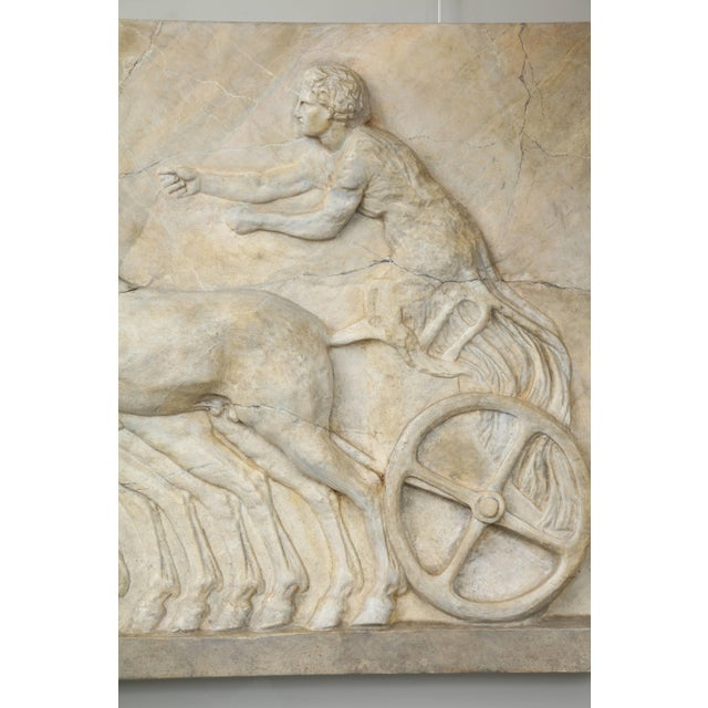 Mid 20th Century Neoclassical Plaster Panel For Sale - Image 5 of 8