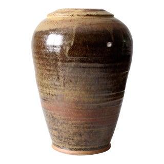 Studio Pottery Vase For Sale