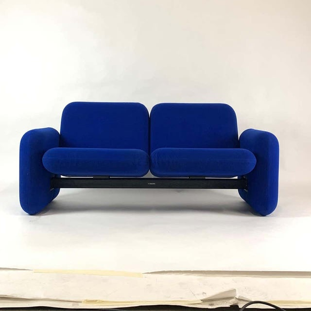 "Mid-Century Modern Iconic Modern Design 1970s ""Chiclet"" Sofa Settee by Ray Wilkes for Herman Miller For Sale - Image 3 of 13"