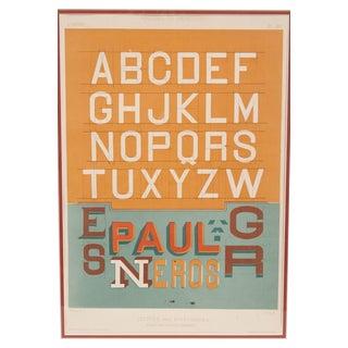 Framed Alphabet