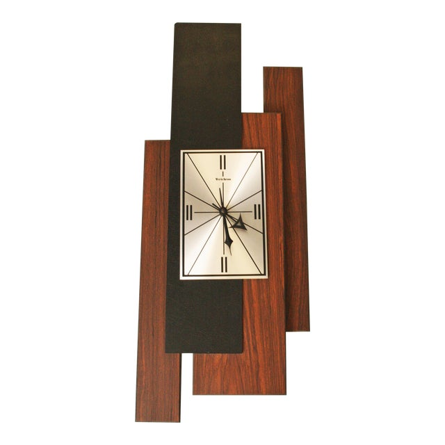 1960s Danish Modern George Nelson Style Wall Clock - Image 1 of 11