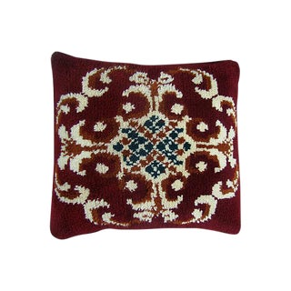 Moroccan Floral Design Pillow For Sale