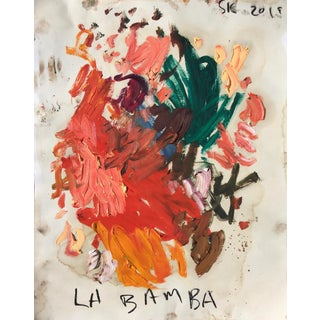 'La Bamba' Abstract Oil Painting by Sean Kratzert For Sale