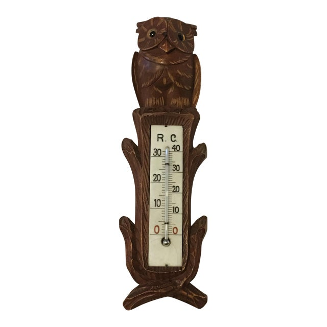 Black Forest Thermometer Wall Decoration - Image 1 of 4