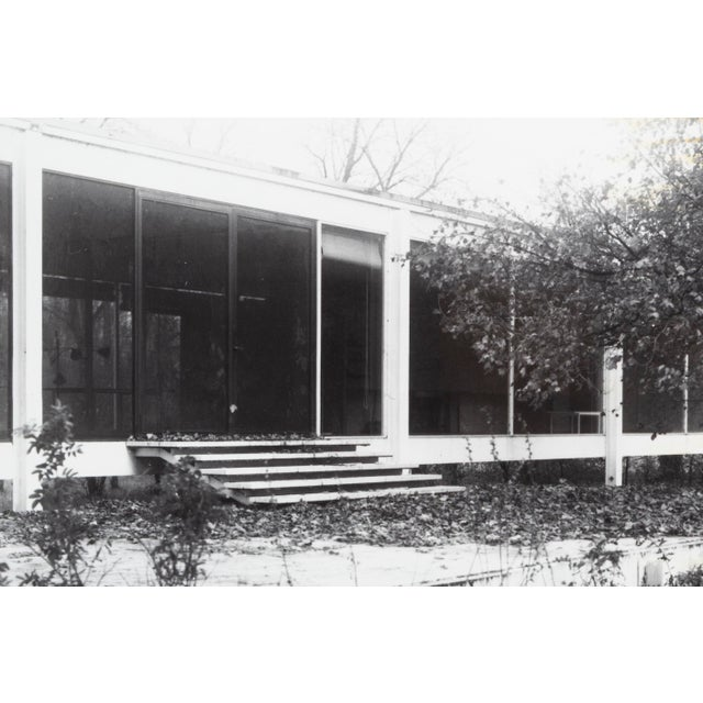 """""""Farnsworth House Early Decline #1"""" Photograph by Jim Zanzi For Sale - Image 4 of 6"""