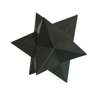 Modern Metal Star Sculpture For Sale