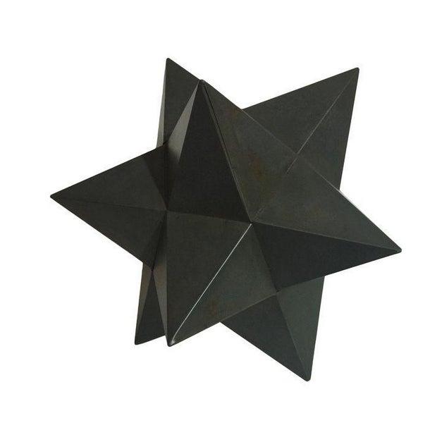 Modern Metal Star Sculpture - Image 1 of 3